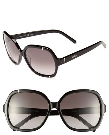 Chloé 'Caspia' 58mm Sunglasses