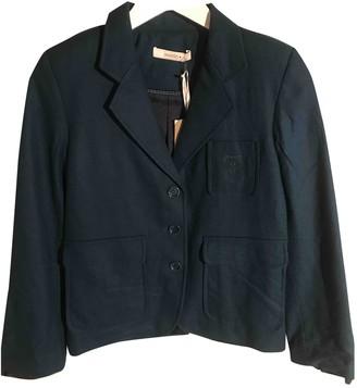 Sessun Green Wool Jackets