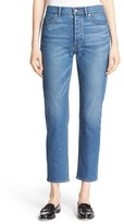 Rebecca Taylor Women's Beatrice Crop Straight Leg Jeans