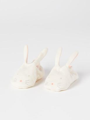 Meri Meri Organic Cotton Bunny Baby Booties