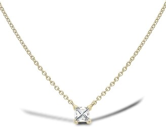 Pragnell 18kt yellow gold RockChic diamond solitaire necklace