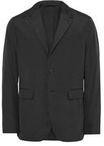 Burberry London Black Slim-Fit Shell Blazer