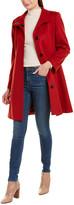 Sofia Cashmere Sofiacashmere Wool-Blend Coat