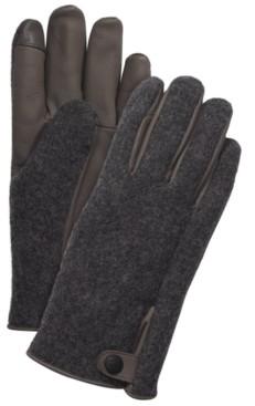 UGG Men's Mixed-Media Gloves