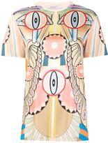 Givenchy 'Crazy Cleopatra' T-shirt - women - Silk/Spandex/Elastane - 34