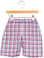 Oscar de la Renta Boys' Gingham Bermuda Shorts