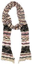 Missoni Striped Open Knit Scarf
