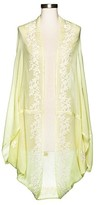 Mossimo Women's Yellow Embroidered Cocoon