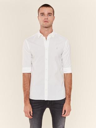 AllSaints Redondo Half Sleeve Ramskull Shirt