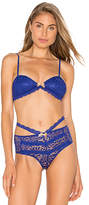 Lovers + Friends Playtime Bralette in Blue. - size S (also in )