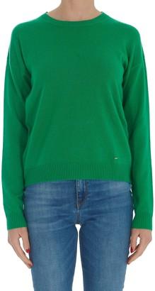 Pinko Long-Sleeved Knit Sweater