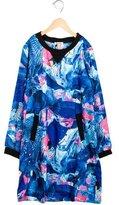 Junior Gaultier Girls' Denim Print Sheath Dress w/ Tags