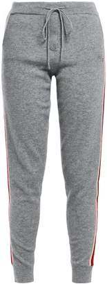 Parker Chinti & Ringmaster Striped Wool And Cashmere-blend Track Pants
