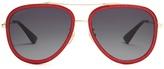 Gucci Glitter-acetate aviator sunglasses