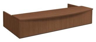 Foundation Half-Circle Desk HON Color: Shaker Cherry