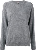 N.Peal cashmere knitted long sleeve sweatshirt