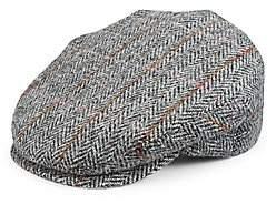 Saks Fifth Avenue Classic Tweed Earflap Cap
