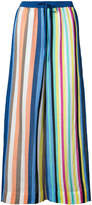 Diane von Furstenberg striped linen trousers