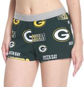 Women's Concepts Sport Green Bay Packers Sweep Shorts