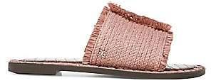 Sam Edelman Women's Glenda Flat Raffia Sandals