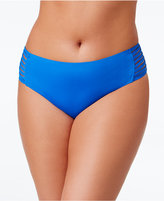 Becca ETC Plus Size Electric Current Hipster Bikini Bottoms