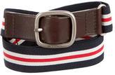 Etro Canvas Striped Belt