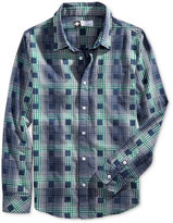 Lrg Men's Boxed-In Plaid Shirt