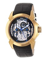 Reign Optimus Collection REIRN3804 Men's Gold Stainless Steel Automatic Watch