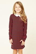 Forever 21 Girls Striped Dress (Kids)
