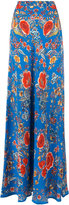 Roberto Cavalli Enchanted garden long skirt - women - Silk - 46