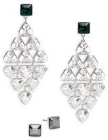 Swarovski Bright Crystal Drop Earrings