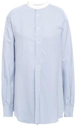 Masscob Poitier Pinstriped Broadcloth Shirt