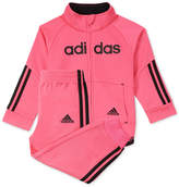 adidas 2-Pc. Jacket and Jogger Pants Set, Little Girls (4-6X)