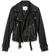 Girl's Maddie Faux Leather Moto Jacket