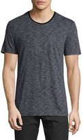 ATM Anthony Thomas Melillo Slub-Knit Pocket T-Shirt, Navy