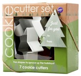 Wilton 7Pc Holiday Cookie Cutter Set