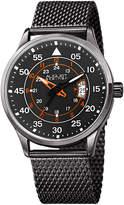 August Steiner Date Water Resistant Watch, 43mm