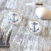 JuJu Treasures Vintage Anchor Cufflinks