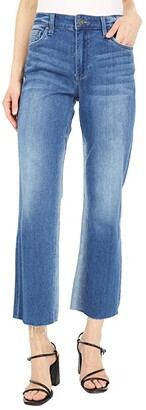 KUT from the Kloth Kelsey High-Rise Ankle Flare in Overtake (Overtake) Women's Jeans