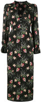 Vilshenko floral print dress - women - Silk - 10