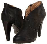 Frye Harlow Campus Bootie (Charcoal Vintage Distressed Leather) - Footwear