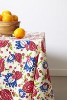 Oscar de la Renta Ornamental Floral Tablecloth