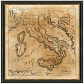 "One Kings Lane Italian Heritage Map - 20"" x 20"""
