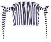 Love **Tie Sleeve Crop Top