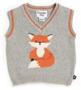 Hartstrings Baby Boy's Intarsia Fox Sweater Vest
