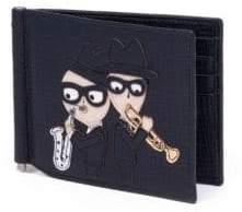 Dolce & Gabbana Leather Bi-Fold Wallet