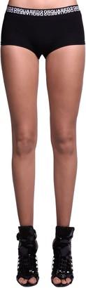 DSQUARED2 Double Logo Cotton Jersey Shorts