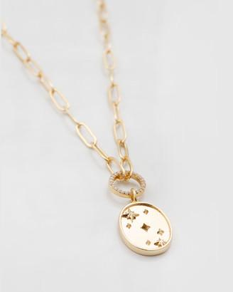 Wanderlust + Co Stargazer Gold Necklace