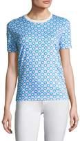 Miu Miu Women's Graphic Print T-shirt