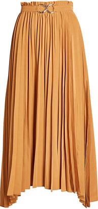 REJINA PYO Kiera Pleated Midi Skirt